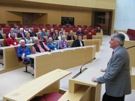 Landtagsfahrten sind eine gute Gelegenheit zum Gespräch mit Bürgerinnen und Bürgern.