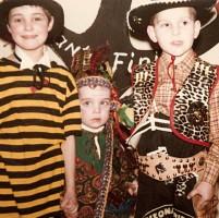 Ein Traum von einem Cowboy, oder? An die anderen beiden kann ich mich leider nicht mehr erinnern!