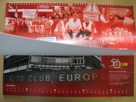 """Im September 2015 """"ziere"""" ich das Kalenderblatt des ACE (Automobil Club Europa). Das Foto entstand im Rahmen der Aktion """"Schlagloch-Oskar""""."""