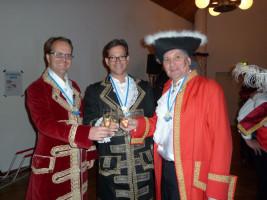 Schwaben weissblau: Faschingssitzung mit Markus Rinderspacher und Florian Pronold in Memmingen.