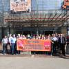 Demo bei OBI im Fabrikschloss