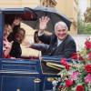In der Kutsche auf dem Plärrerumzug zusammen mit MdB Ulrike Bahr, unserer Landesvorsitzenden Natascha Kohnen und Stadträtin Mäggi Heinrich.