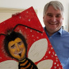 "Die Künstlerin Mom Bee hat mein Wahlkampfplakat ""bearbeitet""."