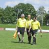 Schiedsrichtern beim Benefiz-Fußballturnier der Datschiburger Kickers. Foto: Fred Schöllhorn