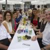 Friedensfest am 8. August in Augsburg mit der Friendenstafel. Foto: Irmgard Hoffmann