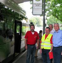 Zusammen mit dem ACE (Auto Club Europa) habe ich mir das Verhalten von Autofahrern an Bushaltestellen angeschaut.