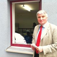Besuch der Erstaufnahmeeinrichtung in Zirndorf