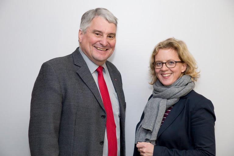 Natascha Kohnen und Harald
