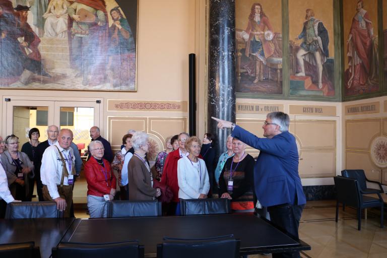 Besuchergruppe im Landtag 2