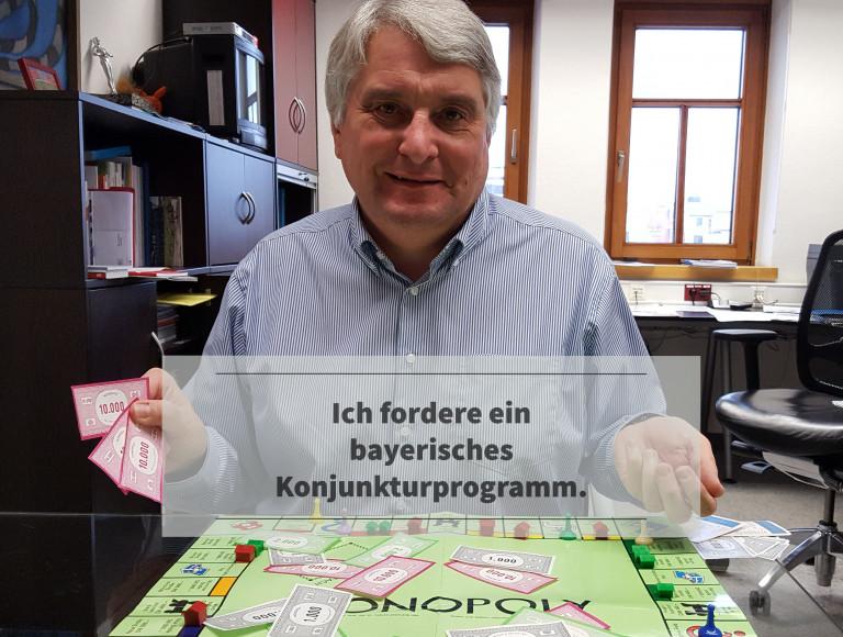 Bayerisches Konjunkturprogramm