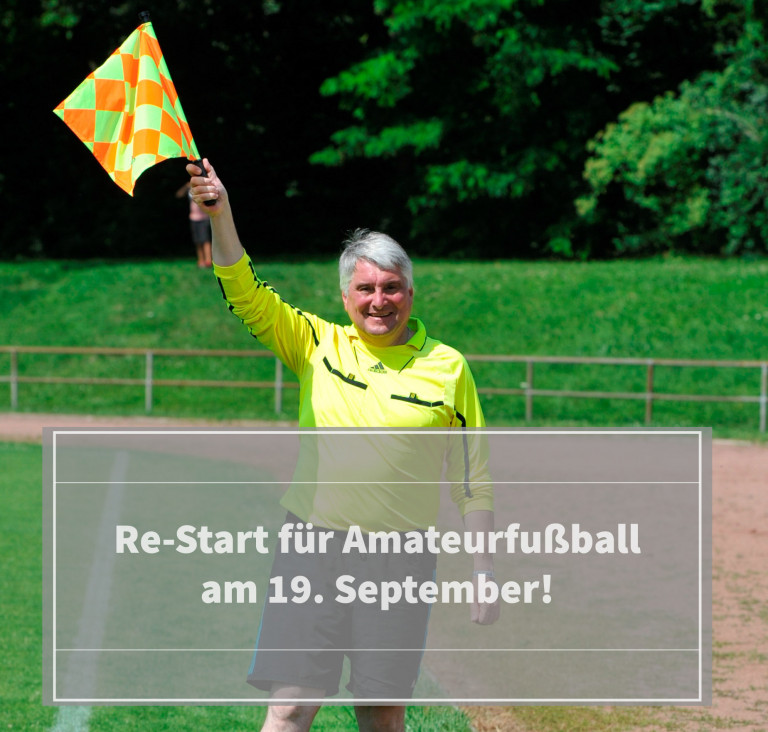 Amateurfußball Re-Start